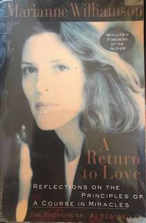"Marianne Williamson's ""A Return to Love"""