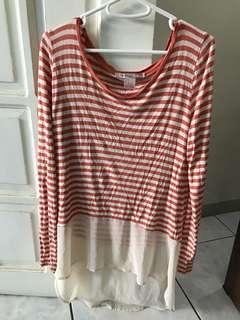 Stripes Long Sweater