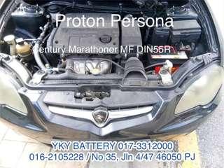 Bateri Kereta , Persona , Din55r