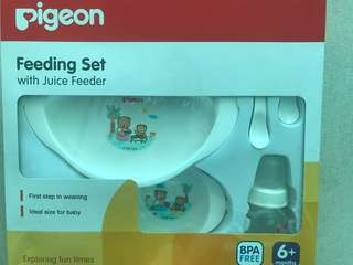 Pigeon Feeding Set New
