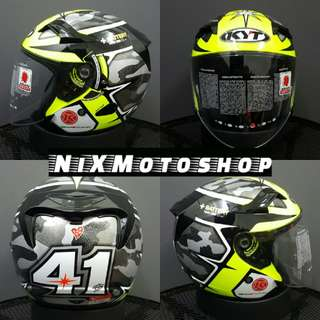 KYT Venom Espargaro Winter Test ( Double Visor )