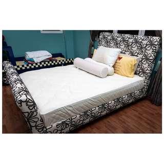 Queen Size Bed Frame (Mattress Optional)