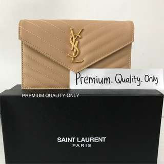 Customer's Order YSL Wallet On Chain- beige