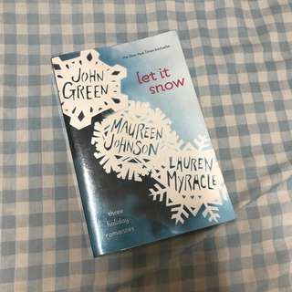 Let it Snow by John Green, David Levithan, and