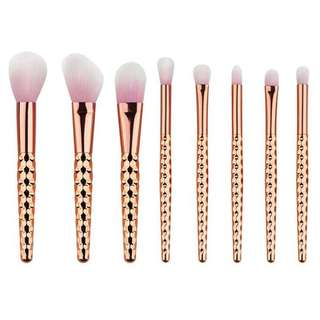 Diamond Brush Make Up 8 Set