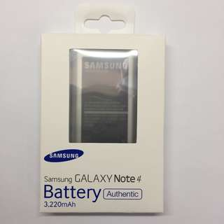 Samsung Note 4 N9100 Battery 3220mah Battery 電池