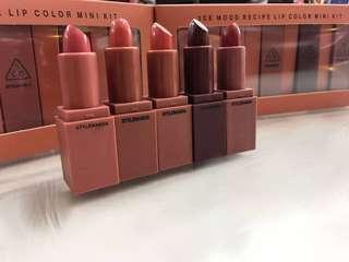 🚚 3CE Lip Colour Mini Kit