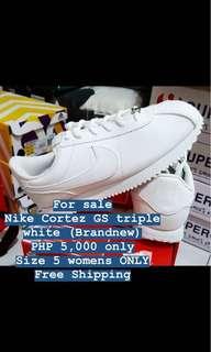 Nike Cortez GS triple White (Brandnew)