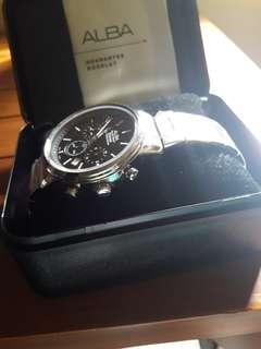 jam tangan pria merk alba