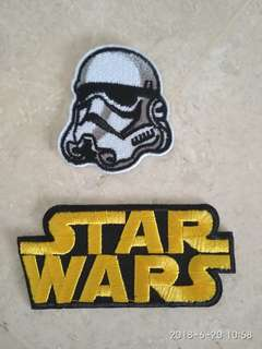Iron On Patch - Star Wars Storm Trooper