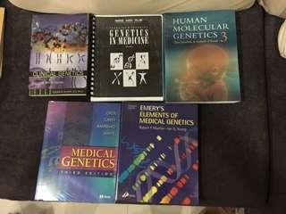 Medical school textbooks. Genetics.