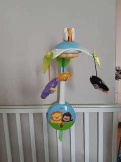 Fisher Price playgym & hanging mobile
