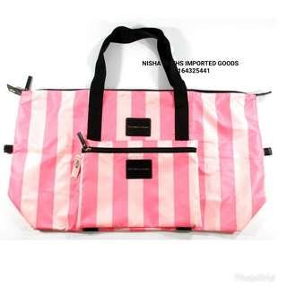 VICTORIA'S SECRET TRAVELING/WEEKENDER BAG