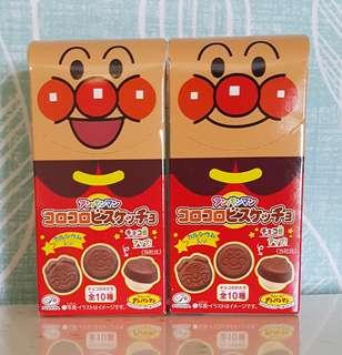 🚚 現貨 日本不二家麵包超人巧克力小點心 FUJIYA巧克力餅乾 巧克力巧酥