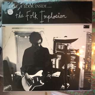 Records Vinyl - The Folk Implosion- take a look inside LP