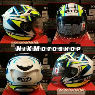 KYT Venom Locatelli 2017 ( Double Visor )