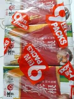 竹蔗茅根水,9包一pack