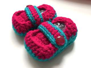 🚚 Crochet Baby Shoes / Loafers