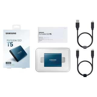 🚚 Samsung Portable SSD T5 250GB (MU-PA250B/WW)