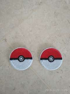 Iron on patch - Pokemon Pokémon Pokeball