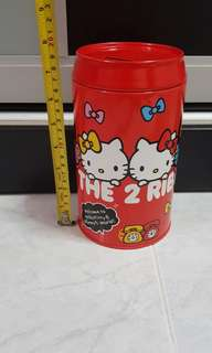 Hello Kitty Tin coinbank