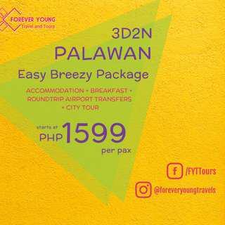 3D2N PUERTO PRINCESA EASY BREEZY TOUR PACKAGE
