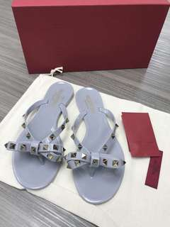 Valentino Slippers 拖鞋(灰色)