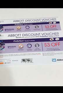 Pediasure Ready-To-Drink $3 voucher off