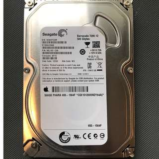 "Seagate Barracuda 500GB 3.5"" Internal Hard Drive for iMAC"