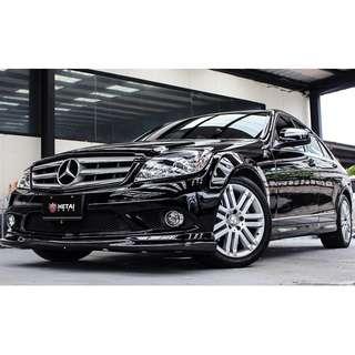 2008 Benz C300 黑