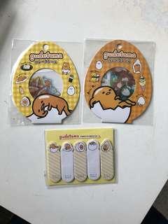 Gudetama Stickers & sticky notes