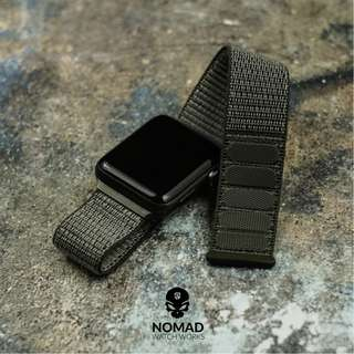 🚚 Apple Watch Sports Nylon Strap in Olive