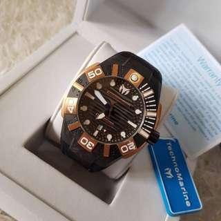 Original TECHNOMARINE Reef Men's 45mm Watch TM515010