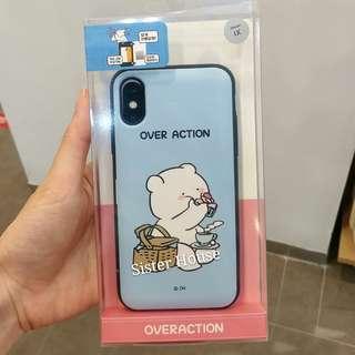 (包郵)🇰🇷Overaction Rabbit Card Phone Case 愛跳舞的兔子卡手機殼