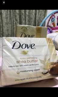 dove shea butter soap