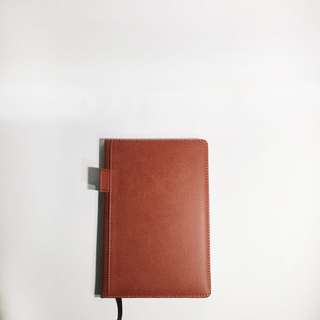 Leather Notebook - Brown