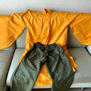 RARE罕有上海灘少林寺套裝 Shanghai Tang Shaolin uniform