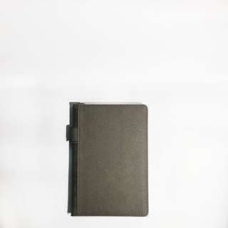 Leather Notebook - Grey