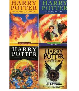 🚚 Harry Potter complete set of 8 books