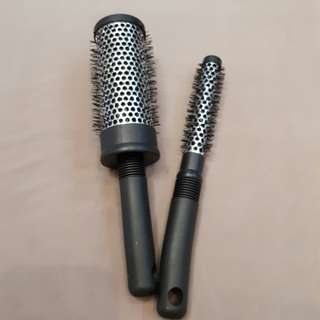 2 metal roller brush