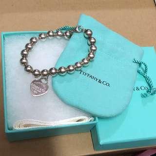 90%新 正版Tiffany Bracelet 手鏈 手鍊
