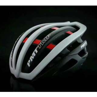 💯🆕PMT Cycling Helmet Ultralight In-mold Breathable Bicycle Helmet  /Road /Mountain/MTB Helmet (Black+White)