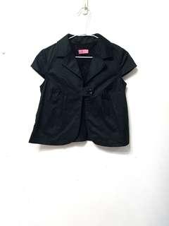 🚚 [售/換] F.F.F.F 專櫃品牌 黑色小外套