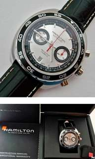 Hamilton ~Automatic ~Chronograph ~Brand New ,Full set, 可上總代理交收