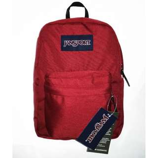JANSPORT BAG - MAROON