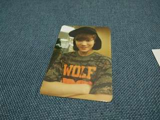 EXO XOXO REPACKAGE KAI'S PHOTOCARD