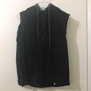 Urban Outfitters BDG Black Denim Vest
