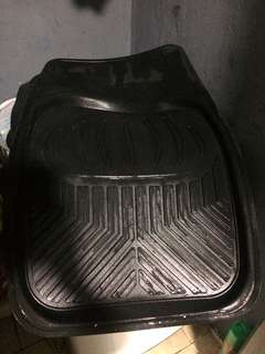 Car floor mats rubber universal complete set crv toyota mazda honda