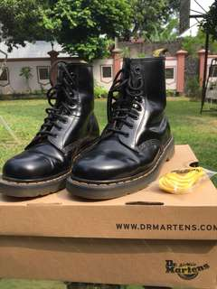 Dr martens original 8 holes black