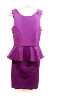 Peplum Dress Topshop Original Preloved